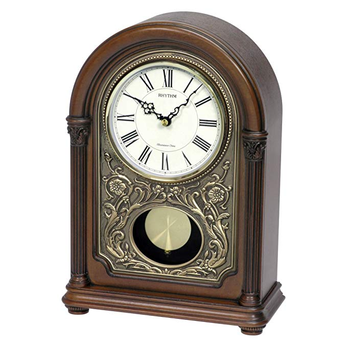 Rhythm WSM Amherst Mantel Clock
