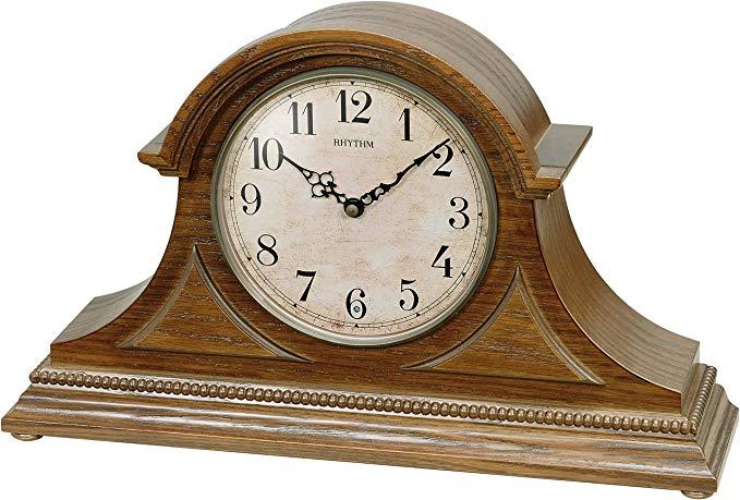 Rhythm USA Joyful Remington Mantel Clock