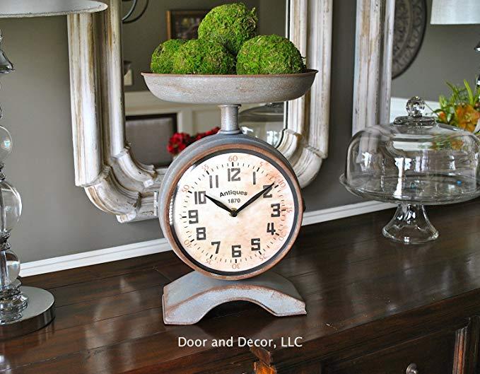 Clock Scale Galvanized 12x14
